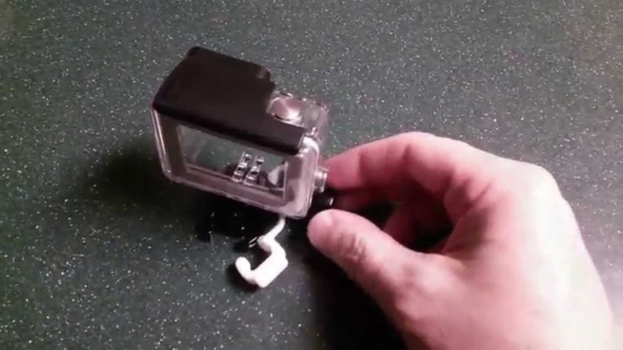 White Rubber Thing For Gopro Youtube