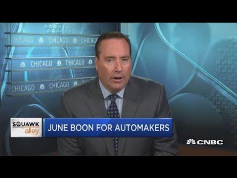 Auto industry reporting positive sales despite trade concerns
