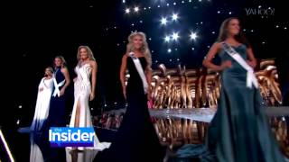 Lu Sierra at Miss USA 2016 on The Insider with Keltie Knight