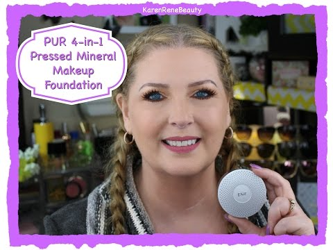 First Impression - PUR 4 in 1 Pressed Mineral Powder Makeup Foundation