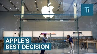 Decision Apple Made 20 Years Ago Was The Key To Its Success