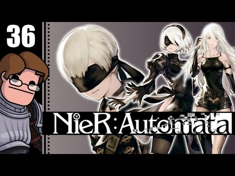 Let's Play NieR: Automata Part 36 - Data Analysis Freak