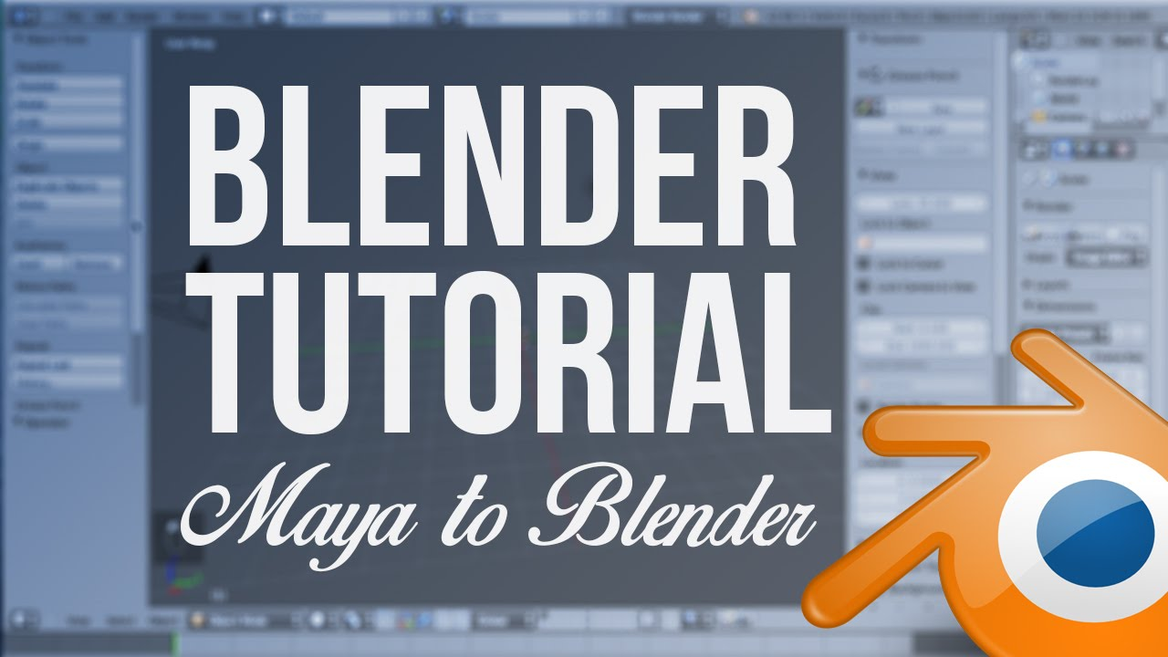 Blender Animation Tutorial: From Maya to Blender (Character Animation)