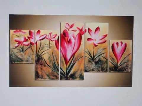 Bloemen schilderijen kopen van youtube for Schilderijen van bloemen
