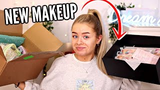 LET'S CHAT + UNBOX SOME NEW MAKEUP.. (+ giveaway)