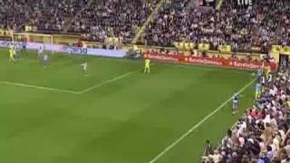 Villarreal  Atletico Madrid 4 - 4 La liga 26.10.2008