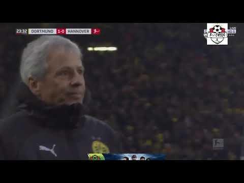 Achraf Hakimi goal against Hannover 96