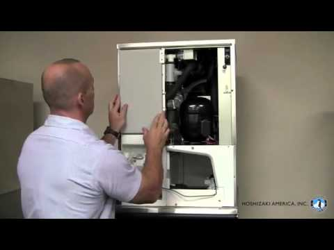 Hoshizaki Ice Maker Km515 650 Cleaning Video