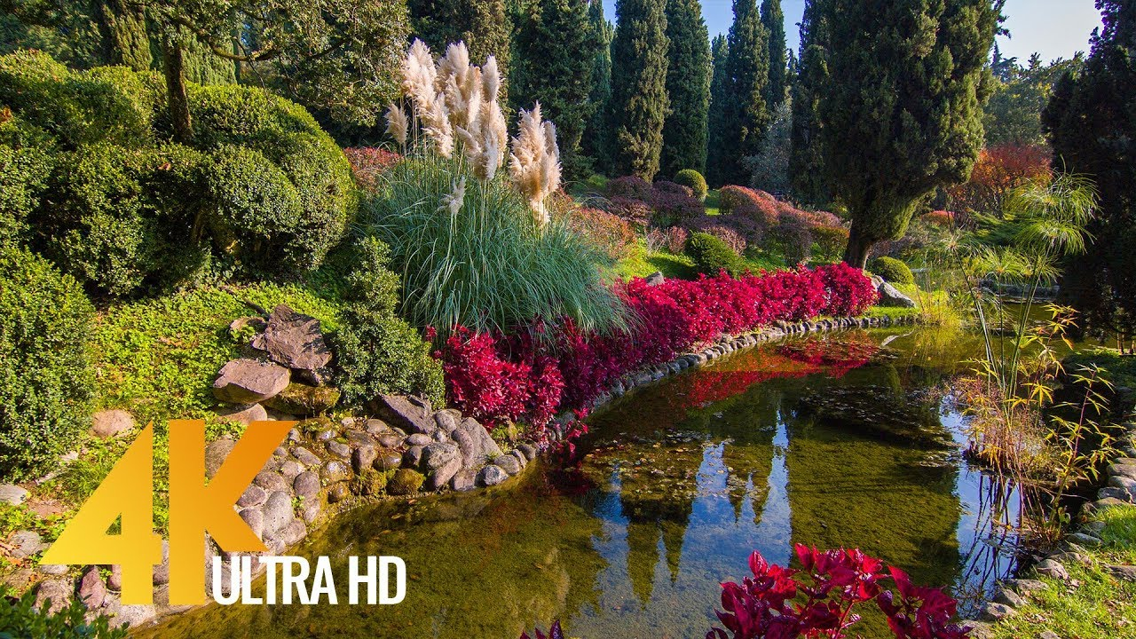 Giardino Italian 4k Relax City Life Fabulous Italy Parco Giardino Sigurtà Beauty And Incredibility Of Italy