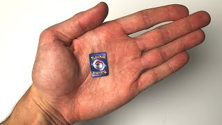 THE SMALLEST POKEMON CARDS IN THE WORLD!