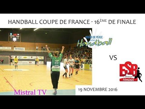 Handball CdF 16ème de Finale BDP vs BESANCON