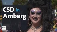 Erster CSD in Amberg: Gay Pride in der Oberpfalz | Abendschau | BR24