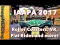 IAAPA 2017 Amusement Park Rides and Attractions in Orlando, Florida!