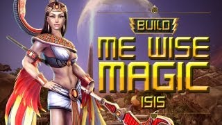 Smite :: Build Isis :: Me wise magic