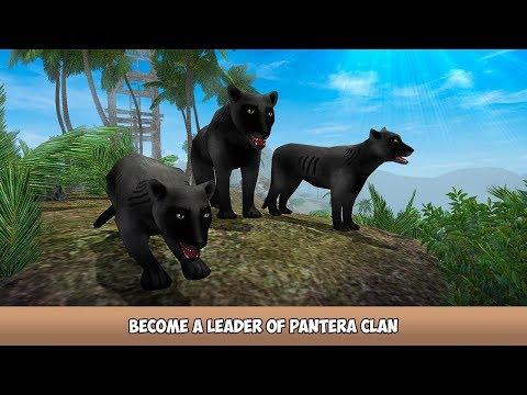 🐾Panther Family Forest Life 3D-Семейная лесная жизнь Пантеры-Virtual Animals World-Android