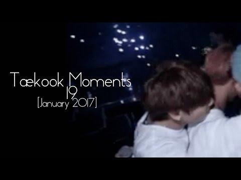 Taekook Moments - 19 [JANUARY 2017]