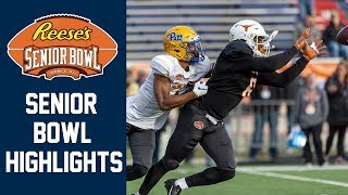 2020 Senior Bowl Highlights | 2020 College Football