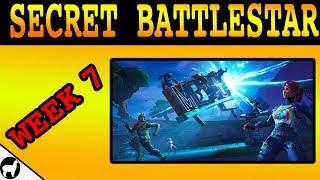 How to Find Week 7 Secret Battlestar Location   Road Trip Challenges   Fortnite Battle Royale