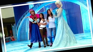 DISNEY FROZEN Meet and Greet Anna and Elsa at SM MOA by Toy Kingdom