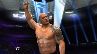 WWE 2K14 Walkthrough - 30 Years of Wrestlemania Part 25 - Ruthless Aggression: The Rock Vs. Stone Cold