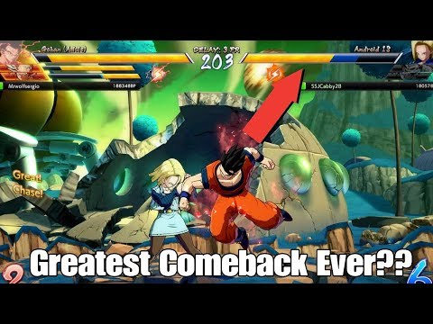 Dragon Ball FighterZ Greatest Comeback Youll See In The Whole Beta!