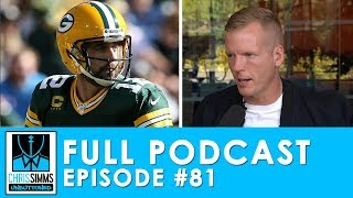 Aaron Rodgers on all cylinders, Lamar goes for it in Week 7 | Chris Simms Unbuttoned (Ep. 81 FULL)