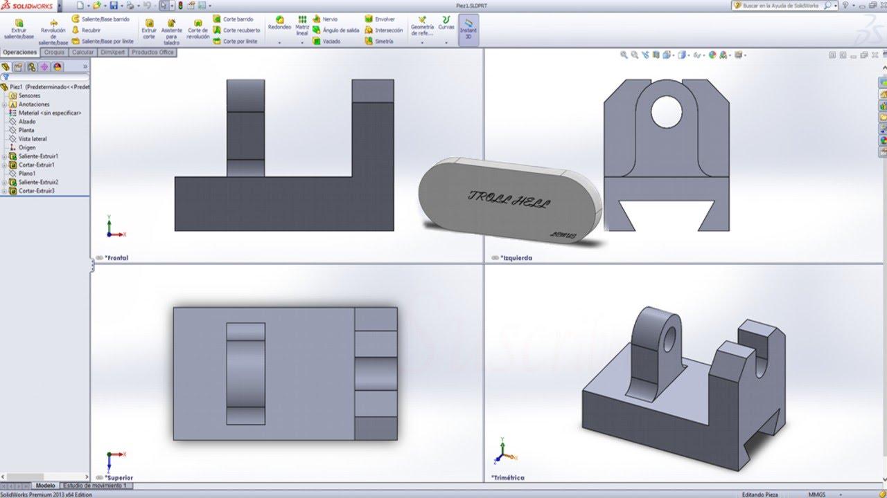 Como hacer una gu a de cola de milano en solidworks cola - Guia para construir ...