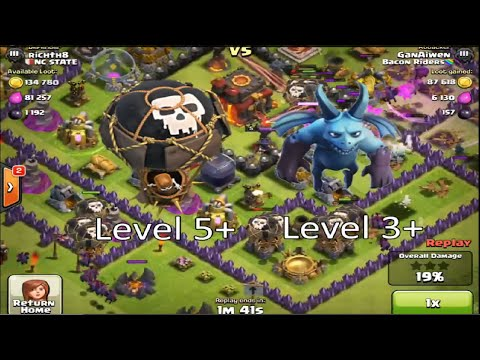 Clash of Clans - Balloons & Minions Attack Strategy (Balloonion)