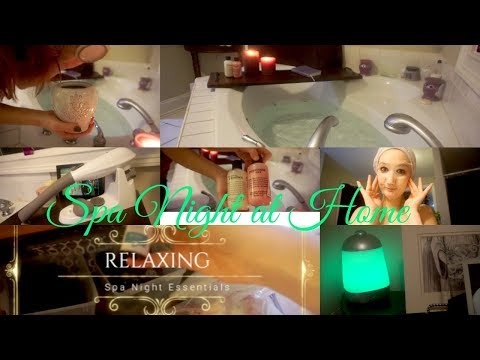Relaxing Spa Night at Home| Pamper Routine\ Self Care\ VLOGMAS Day 5
