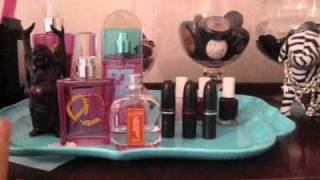 What's On My Dresser! (makeup Organization/getting Ready Area)