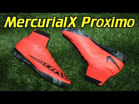 Nike MercurialX Proximo Indoor & Turf Bright Crimson - Review + On Feet
