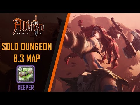 Albion Online | 8.3 Solo Random Dungeon | Keeper Dungeon - PVE Badon Build