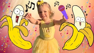 Go Bananas song after kids reading time.