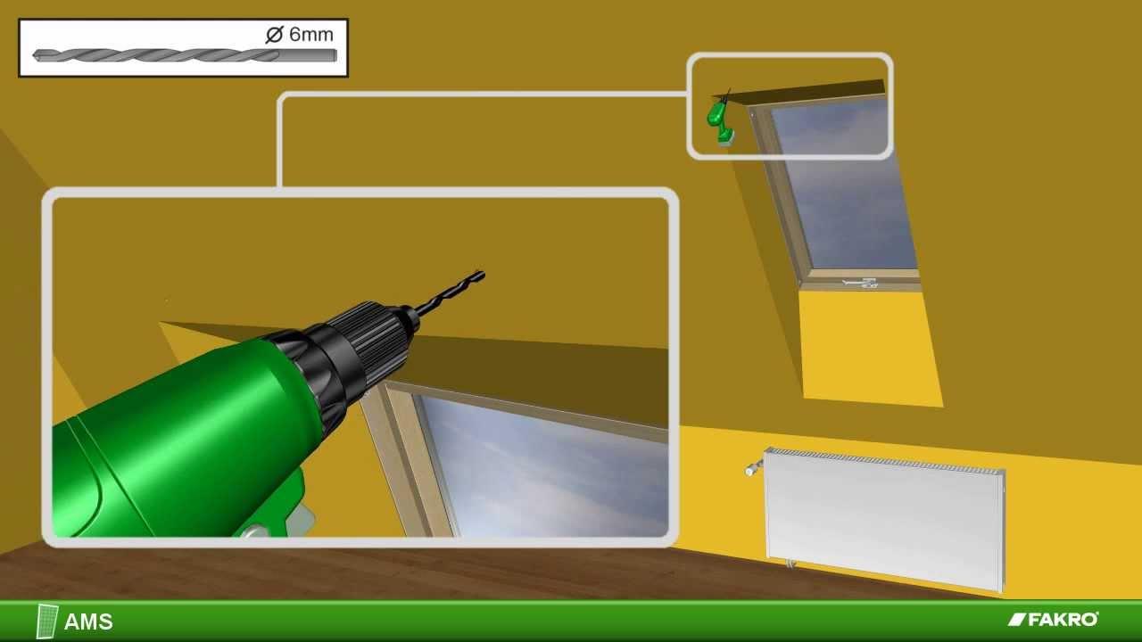 Fakro finestre da tetto zanzariera ams youtube for Finestre fakro