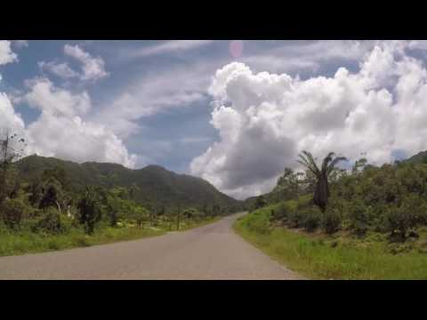 Belize Route dans la jungle, Gopro / Belize Road inside jungle, Gopro