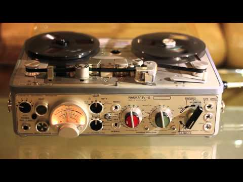 NAGRA IV-S Kudelski reel to reel recorder for sale