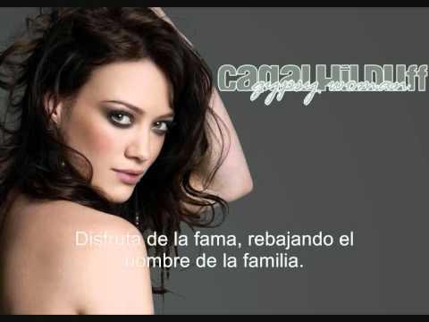 Hilary Duff - Gypsy Woman (español)