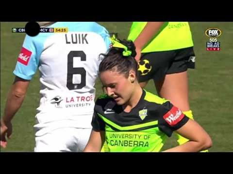 W-League Canberra United v Melbourne City 2nd Half (12/11/16)