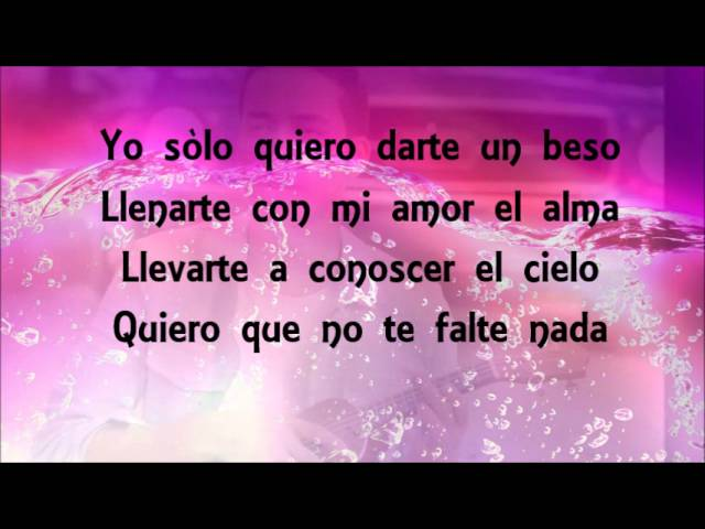 Prince Royce - Darte un beso (Letra - Lyrics) Videos De Viajes