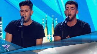 Su INTERESANTE PROPUESTA MUSICAL pone a RISTO en pie | Audiciones 10 | Got Talent España 5 (2019)