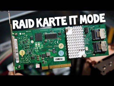 RAID Karte Als HBA Nutzen - Fujitsu D2607 IT Mode [Deutsch/German]