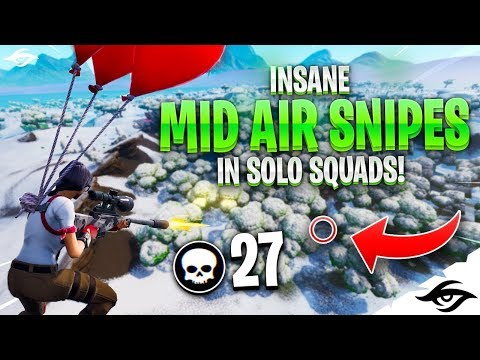Mongraal | CRAZY BALLOON SNIPES in Solo Squads...
