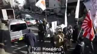 [Asian Nazi in Japan]  We will start Tsuruhashi Massacre like the Nanjing Massacre!