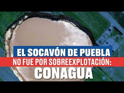 ¿Qué provocó el socavón de Puebla? Activistas señalan actividad de empresas