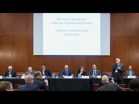 Collusion: 2018 Next Generation of Antitrust Scholars Conference Session 1