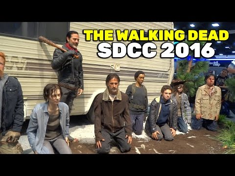 "SDCC 2016: ""The Walking Dead"" booth tour at San Diego Comic-Con"