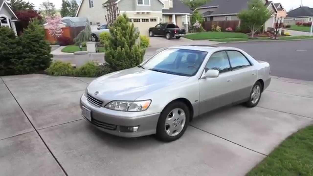 My new 2001 Lexus ES300 - YouTube