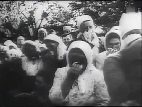 Винницкая трагедия - Mass graves in Ukraine - Vinnytsia massacre - Die Deutsche Wochenschau