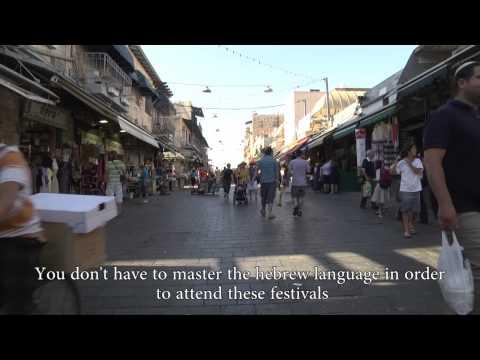 Aliyah2Jerusalem -- Culture and Leisure Time in Jerusalem