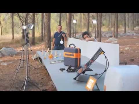 KaliPAK™ - A revolutionary, portable, renewable energy pack